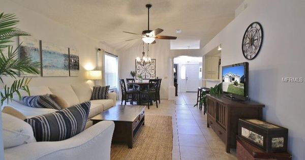860 Cortez Avenue The Villages Fl 32159 Dining Room Combo Home Warranty Room Dimensions