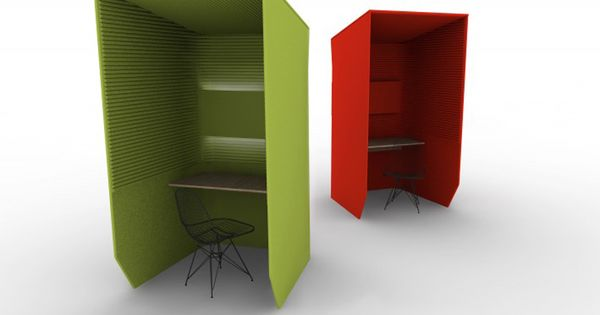 Workstation furniture / Office partition BUZZI BOOTH - Buzzispace. | For the New Denver Office ...