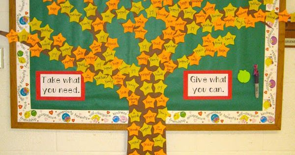 The Giving Tree Interactive Board Idea Bulletin Boards