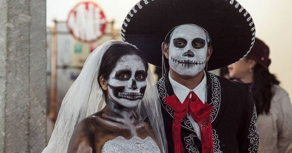Maquillage halloween homme la catrina calavera et id es - Deguisement halloween homme original ...