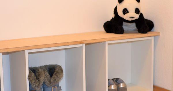super praktische kindergarderobe mit dieser einfachen idee bringt man ordnung ins chaos my. Black Bedroom Furniture Sets. Home Design Ideas