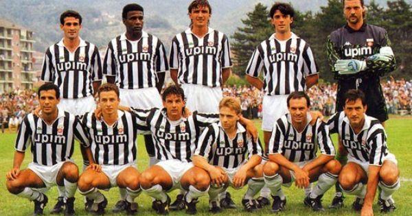 Juventus 1992 Home Kit Juventus Squadra Di Calcio Calcio