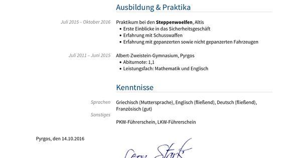 Briefprobe Briefformat Briefvorlage In 2019