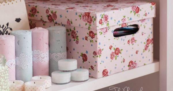 * Nicest Things: DIY: Storage Boxes