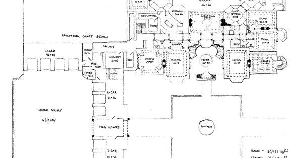 floor plans to james u2019 mega mansion design