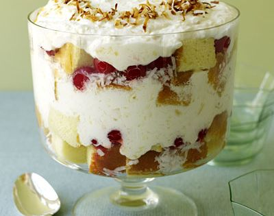 pina colada trifle pinacolada pineapple coconut fruit dessert summer