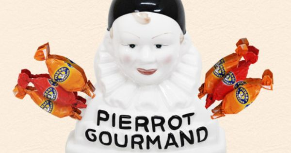 sucette pierrot gourmand caramel le must confiserie mini pinterest madeleine and childhood. Black Bedroom Furniture Sets. Home Design Ideas