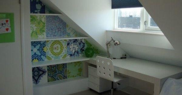 Zolder Slaapkamer Ontwerpen : ... onder schuin dak Interieur Eigen ...