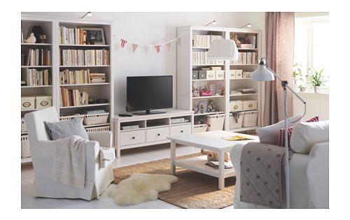 Hemnes biblioth que teint blanc ikea maison pinterest hemnes ikea - Bibliotheque moderne ikea ...
