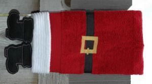 Towel Leg Designs Santa Boots Towel Machine Embroidery Embroidery Craft Machine Embroidery Designs
