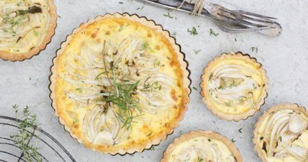 Coconut tart, Fennel and Tarts on Pinterest
