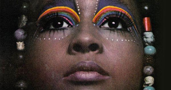 Marsha Hunt by Steve Lovi, 1969. marshahunt 60s makeup fashion beautiful cool