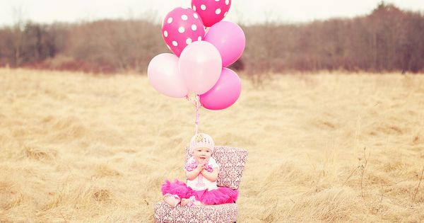 Girl 1st Birthday Photo