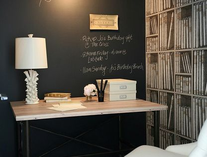 Chalkboard Wall Design, Pictures, Remodel, Decor and Ideas - page 2