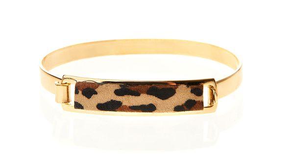 Animal Print ID Bracelet