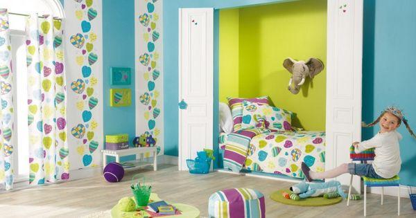 Papel pintado caselio miss zoe 57925031 papeles para - Paredes habitaciones infantiles ...