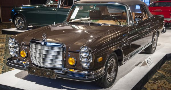 1971 mercedes benz 280 se 3 5 cabriolet for Mercedes benz hunt valley