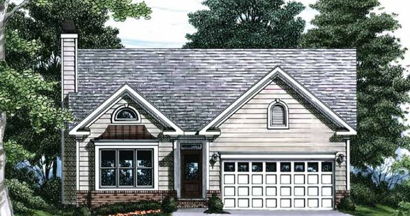 Eplans House Plan With A Box Bay Window And Stylish
