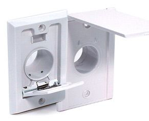 Basic Inlet Valve Wall Plates For Your Central Vacuum System Central Vacuum Plates On Wall Central Vacuum System