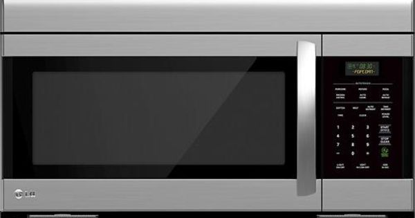 Lg 1 6 Cu Ft Over The Range Microwave Stainless Steel Lmv1683st Best Over The Range Microwaves Cool Things To Buy Stainless Steel Microwave