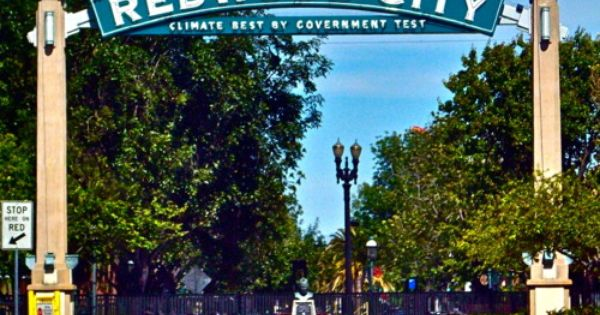Welcome Arch To Redwood City California Climate Best By Government Test Orte Tierarzt Verliebt