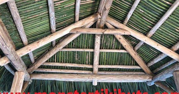10x10 Tiki Hut Tiki Thatched Roof