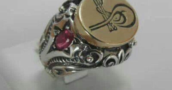 خاتم السلطان العثماني سليمان القانوني Sultan Sulaiman Ottoman Emperor Seal Ring Jewelry Inspiration Antique Jewelry Rings For Men