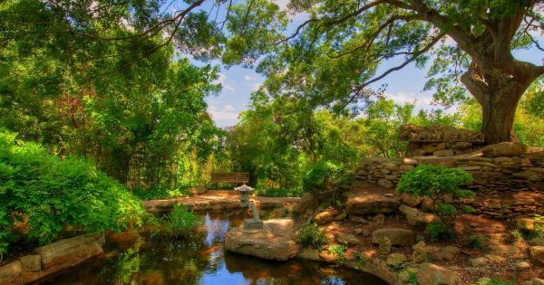 Zilker Botanical Garden Located On 30 Acres In Austin Texas Has Often Been Called The Jewel