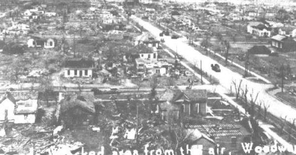 Tornado Of 1947 Woodward County Oklahoma 4 Tornado Damage