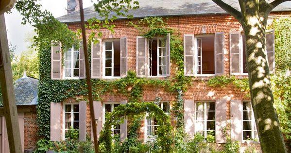 Une maison comme au xixe si cle dream home pinterest for Decoration maison francaise