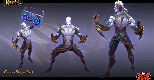 Artstation Galaxy Slayer Zed Duy Khanh Nguyen League Of Legends Characters Character Art League Of Legends