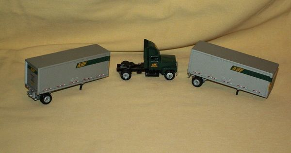 Abf Freight Systems Winross Doubles Semi Tractor Trailer
