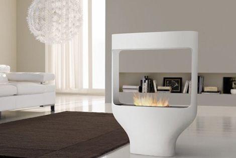 chimenea de diseo moderno espacios pinterest diseo moderno moderno y estufas