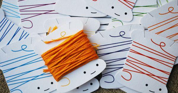 Printable thread bobbins (print on card stock)
