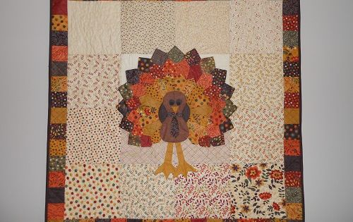 Turkey Quilt Quilted Wall Hangings Pinterest Dresden