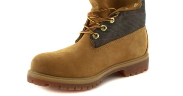 Shop For Mens Timberland Rolltop Boot In Wheat At Journeys
