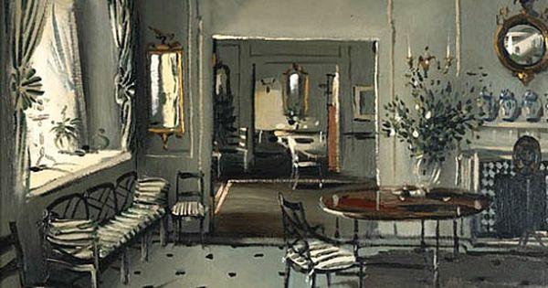 Julian la trobe interior of mrs brown potter s house 1990 for Interior decoration 1990s