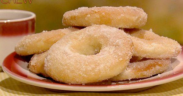 Fabio Viviani's Homemade Doughnuts Recipe by Fabio Viviani - The Chew