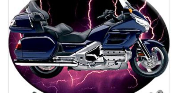 Wing Gold >> Honda Gold Wing Poster - Wild & Free | GoldWing Fine Art | Pinterest | Honda