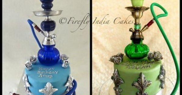 Real Hookah Cakes Cake By Fireflyindia Good Idea For My Dad Haha