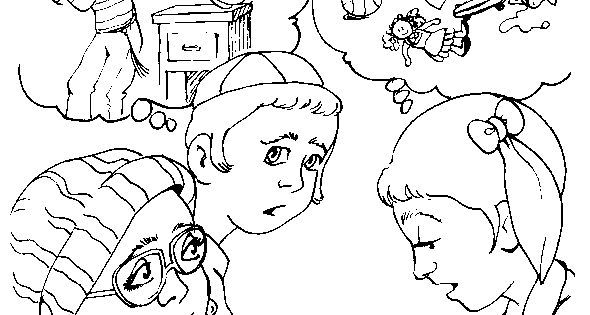 jewish christian kids coloring pages - photo#21