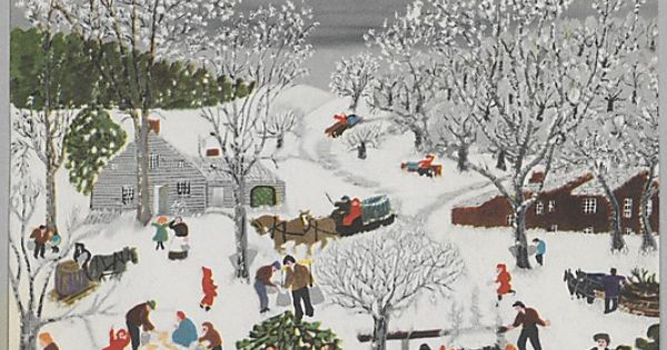 Nothing Like Some Grandma Moses To Think About The