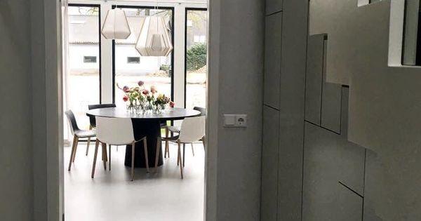 Een eigentijdse zweedse woning in harderwijk deze woning is stoer vormgegeven en heeft zijn - Eigentijdse keuken grijs ...