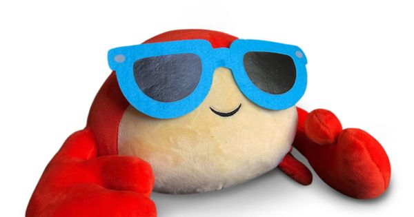 Roblox Denisdaily Intro Id Note Available Now Shipped Upon Order Introducing Pinchy The Crab Plush Toy Become Denis Daily Roblox Plush Teenage Mutant Ninja Turtles Birthday Party