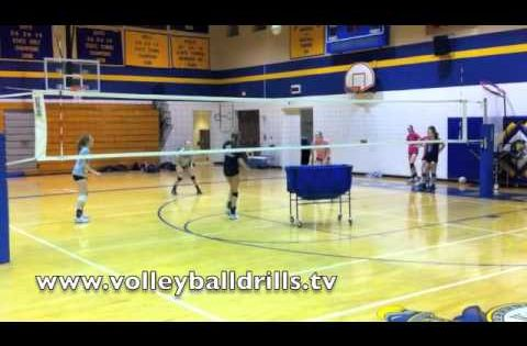 volleyball drill the best defense drill you'll ever play
