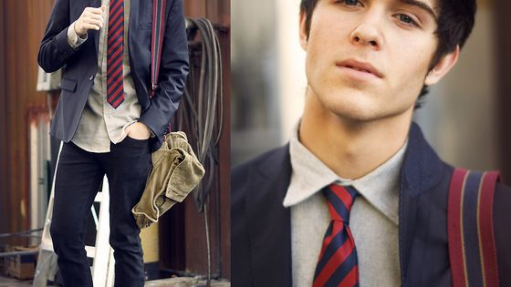 School uniform - look-a-like... Adam Gallagher // LOOKBOOK.nu
