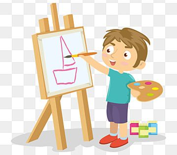 Kid Art Girl Boy Drawing Png And Vector With Transparent Background For Free Download Kids Vector Kindergarten Colors Art For Kids