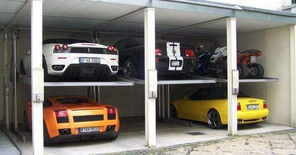 Dream garage carros pinterest garaje de ensue o for Garajes para carros