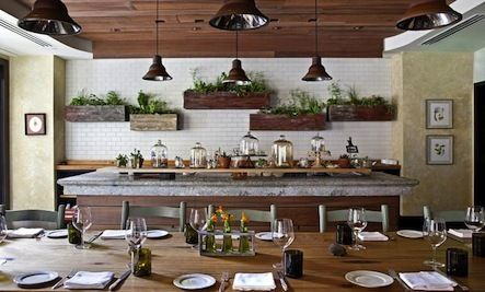 A Farm To Table Restaurant With Organic Appeal Restaurant Design Inspiration Diner Decor Restaurant Decor