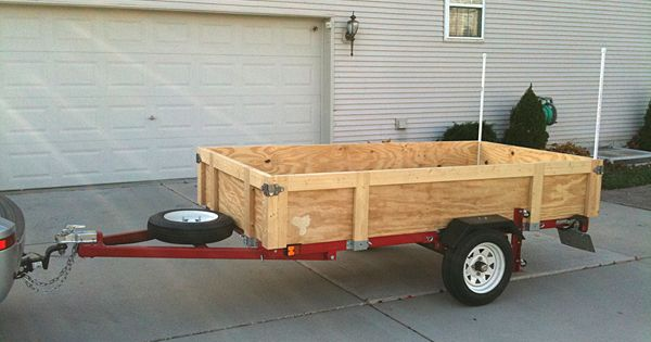 Folding harbor freight utility trailer would need these for Outboard motor dolly harbor freight